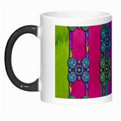 Flowers In A Rainbow Liana Forest Festive Morph Mugs by pepitasart