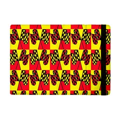 Race Flag Apple Ipad Mini Flip Case by ArtworkByPatrick