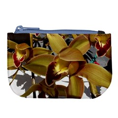Orchids  1 1 Large Coin Purse