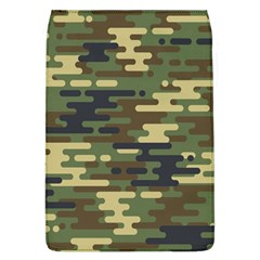 Curve Shape Seamless Camouflage Pattern Removable Flap Cover (l)