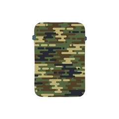 Curve Shape Seamless Camouflage Pattern Apple Ipad Mini Protective Soft Cases