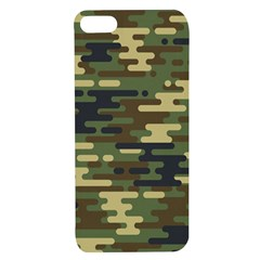 Curve Shape Seamless Camouflage Pattern Apple Iphone 7/8 Tpu Uv Case