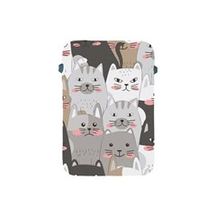 Hand Draw Cats Seamless Pattern Apple Ipad Mini Protective Soft Cases