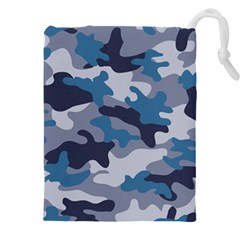 Military Seamless Pattern Drawstring Pouch (4xl)