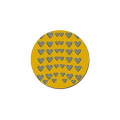 Butterfly Cartoons In Hearts Golf Ball Marker (10 Pack) by pepitasart