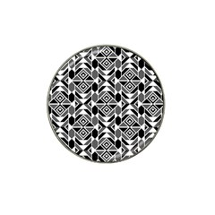 Graphic Design Decoration Abstract Seamless Pattern Hat Clip Ball Marker (10 Pack)