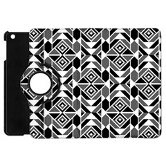 Graphic Design Decoration Abstract Seamless Pattern Apple Ipad Mini Flip 360 Case
