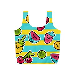 Summer Fruits Patterns Full Print Recycle Bag (s)