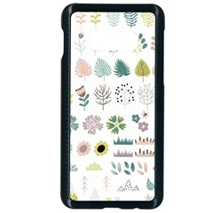 Cute Flowers Plants Big Collection Samsung Galaxy S10e Seamless Case (black)