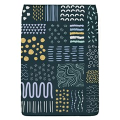 Mixed Background Patterns Removable Flap Cover (s)