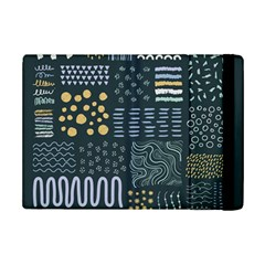Mixed Background Patterns Ipad Mini 2 Flip Cases