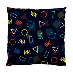 Memphis Seamless Patterns Abstract Jumble Textures Standard Cushion Case (two Sides)
