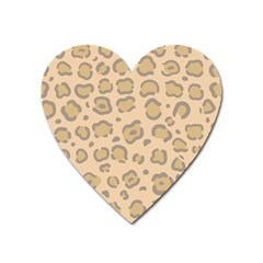 Leopard Print Heart Magnet by Sobalvarro