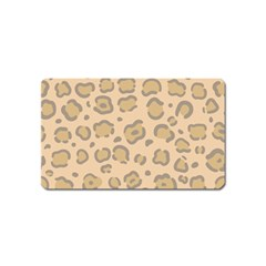 Leopard Print Magnet (name Card) by Sobalvarro