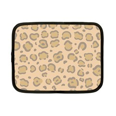 Leopard Print Netbook Case (small) by Sobalvarro