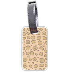 Leopard Print Luggage Tag (two Sides) by Sobalvarro