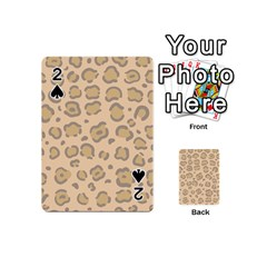Leopard Print Playing Cards 54 Designs (mini) by Sobalvarro