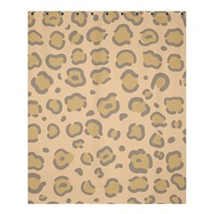 Leopard Print Shower Curtain 60  X 72  (medium)  by Sobalvarro