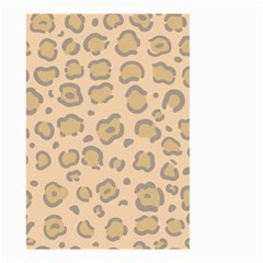 Leopard Print Small Garden Flag (two Sides) by Sobalvarro