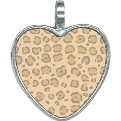 Leopard Print Heart Necklace by Sobalvarro