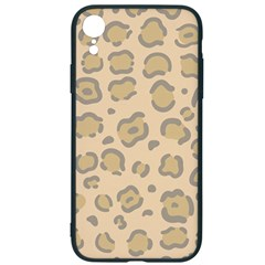 Leopard Print Iphone Xr Soft Bumper Uv Case by Sobalvarro