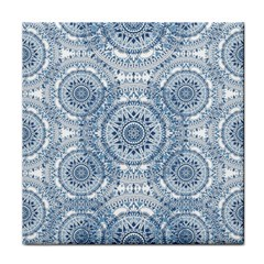 Boho Pattern Style Graphic Vector Tile Coaster by Sobalvarro