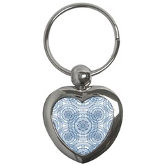 Boho Pattern Style Graphic Vector Key Chain (heart) by Sobalvarro