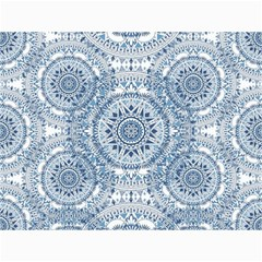 Boho Pattern Style Graphic Vector Canvas 12  X 16  by Sobalvarro