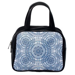 Boho Pattern Style Graphic Vector Classic Handbag (one Side)