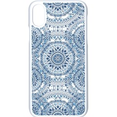 Boho Pattern Style Graphic Vector Iphone Xs Seamless Case (white) by Sobalvarro