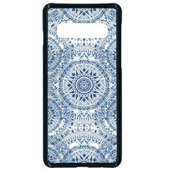 Boho Pattern Style Graphic Vector Samsung Galaxy S10 Seamless Case(black) by Sobalvarro