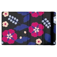 Vector Seamless Flower And Leaves Pattern Apple Ipad Pro 12 9   Flip Case by Sobalvarro