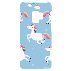 Unicorn Seamless Pattern Background Vector (2) Samsung S9 Black Uv Print Case by Sobalvarro