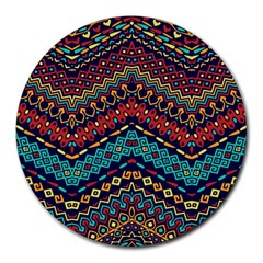 Ethnic  Round Mousepads