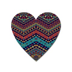 Ethnic  Heart Magnet by Sobalvarro