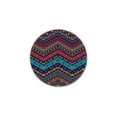 Ethnic  Golf Ball Marker (4 Pack) by Sobalvarro