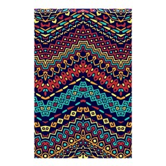 Ethnic  Shower Curtain 48  X 72  (small)  by Sobalvarro