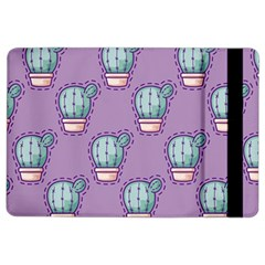 Seamless Pattern Patches Cactus Pots Plants Ipad Air 2 Flip