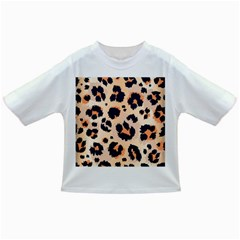 Leopard Pattern Funny Drawing Seamless Pattern Infant/toddler T Shirts