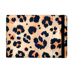 Leopard Pattern Funny Drawing Seamless Pattern Apple Ipad Mini Flip Case