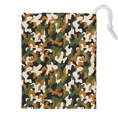 Vector Seamless Military Camouflage Pattern Seamless Vector Abstract Background Drawstring Pouch (5xl)