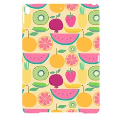Seamless Pattern With Fruit Vector Illustrations Gift Wrap Design Apple Ipad Pro 10 5   Black Uv Print Case