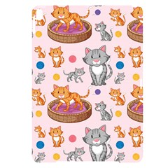 Cat Seamless Pattern Apple Ipad Pro 10 5   Black Uv Print Case