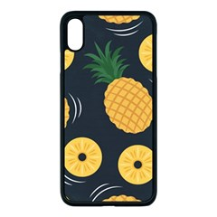 Seamless Pattern Pineapple Pattern Iphone Xs Max Seamless Case (black) by Vaneshart