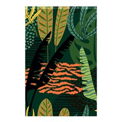 Abstract Seamless Pattern With Tropical Leaves Shower Curtain 48  X 72  (small)  by Vaneshart
