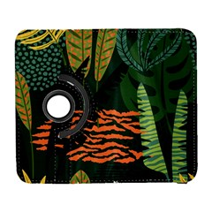 Abstract Seamless Pattern With Tropical Leaves Samsung Galaxy S  Iii Flip 360 Case