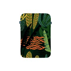 Abstract Seamless Pattern With Tropical Leaves Apple Ipad Mini Protective Soft Cases