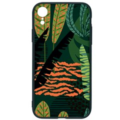 Abstract Seamless Pattern With Tropical Leaves Iphone Xr Soft Bumper Uv Case by Vaneshart