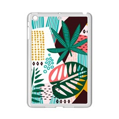 Abstract Seamless Pattern With Tropical Leaves Ipad Mini 2 Enamel Coated Cases