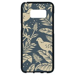 Birds Nature Design Samsung Galaxy S8 Black Seamless Case